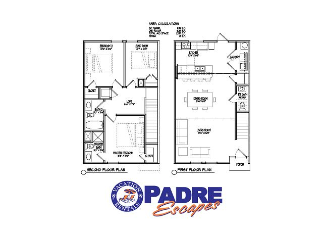 1st and 2nd level floor plans