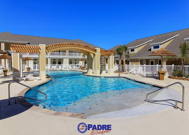 Heated pool for year-round enjoyment, just steps from your patio