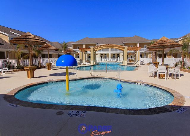 Great pool area for the whole family to enjoy