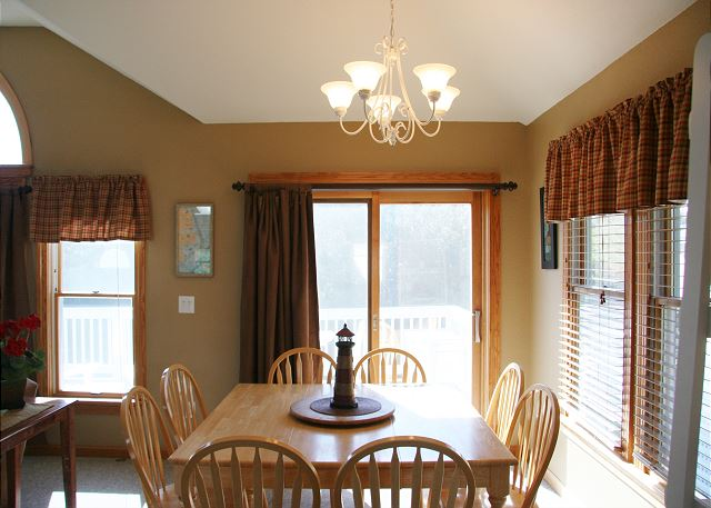 Dining Area Top Level of Shore Sounds Good!, a 5 bedroom, 4.5 bathroom vacation rental in Corolla, NC