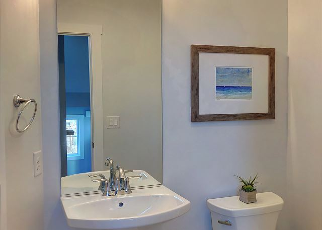 Half Bath Top Level of Summer Love, a 6 bedroom, 6.5 bathroom vacation rental in Corolla, NC