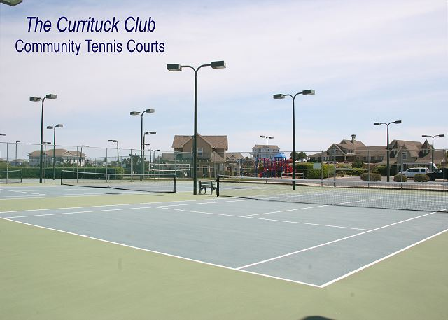 TCC - Tennis Courts of Just Fore Fun, a 4 bedroom, 3.5 bathroom vacation rental in Corolla, NC