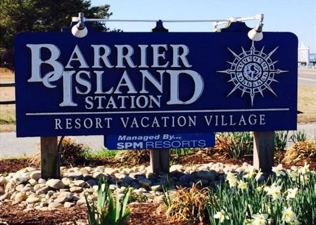 Barrier Island Station Sign