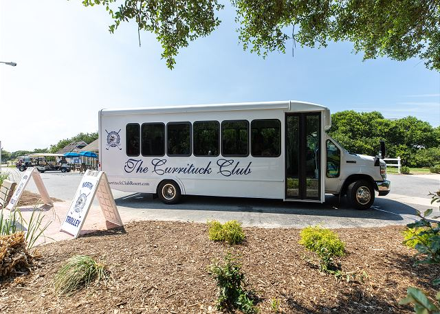 Currituck Club Beach Trolley