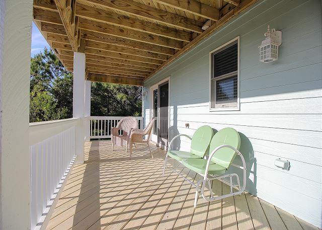 West Porch - Mid Level