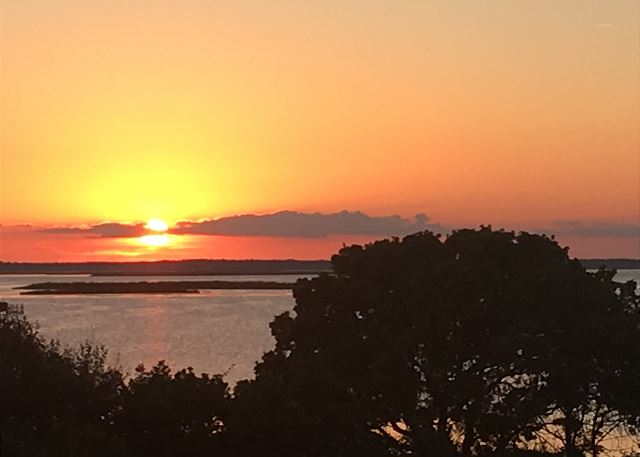 Currituck Sound Sunset View