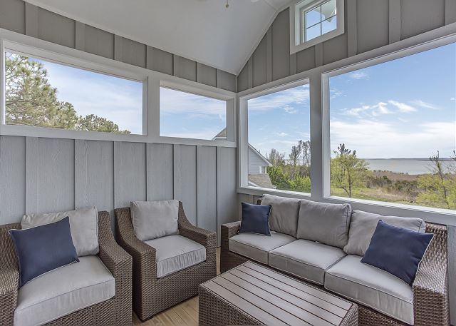 Screened Porch - Top Level