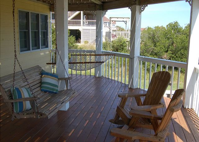 Middle Deck of Neely's Beach Music, a 5 bedroom, 3.5 bathroom vacation rental in Corolla, NC