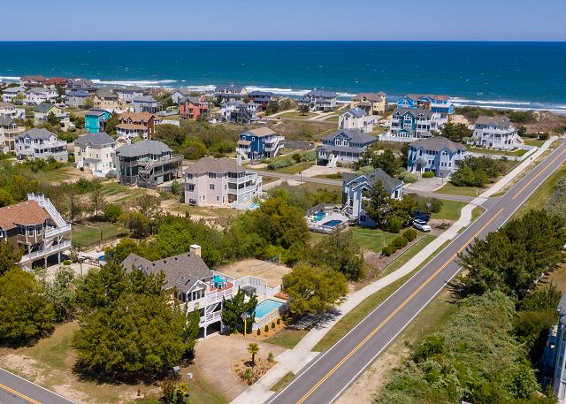 Our Beach Oasis - Aerial View