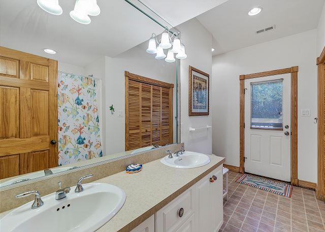 Full Bath - Ground Level