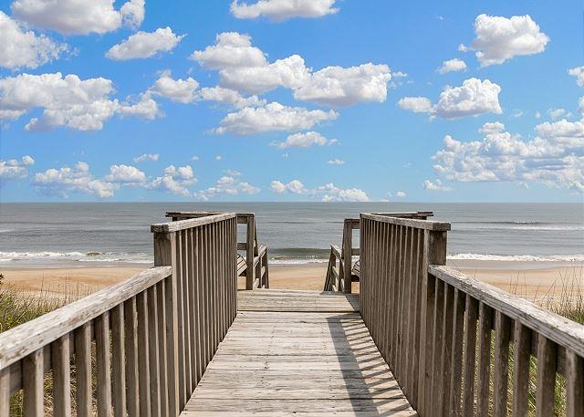 The Salt Life is Good - Private Beach Access
