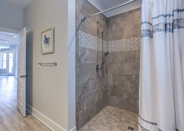 4th King Master Bathroom Ground Level of Summer Love, a 6 bedroom, 6.5 bathroom vacation rental in Corolla, NC