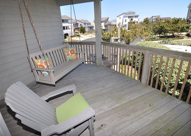 Covered Porch Mid Level Time To Coast is a 6 bedroom, 4.5 bathroom vacation rental in Corolla, NC