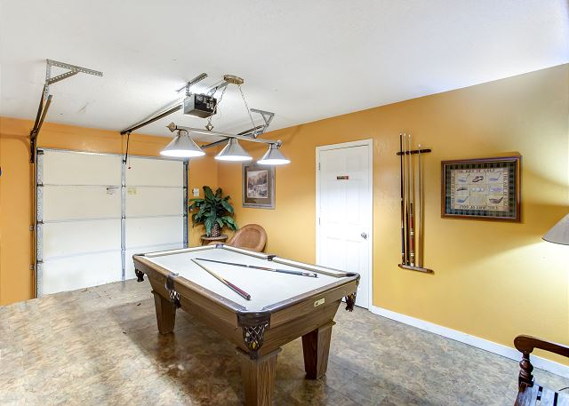 Pool Table - Ground Level