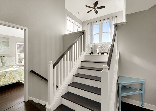 Stairs to Loft - Top Level