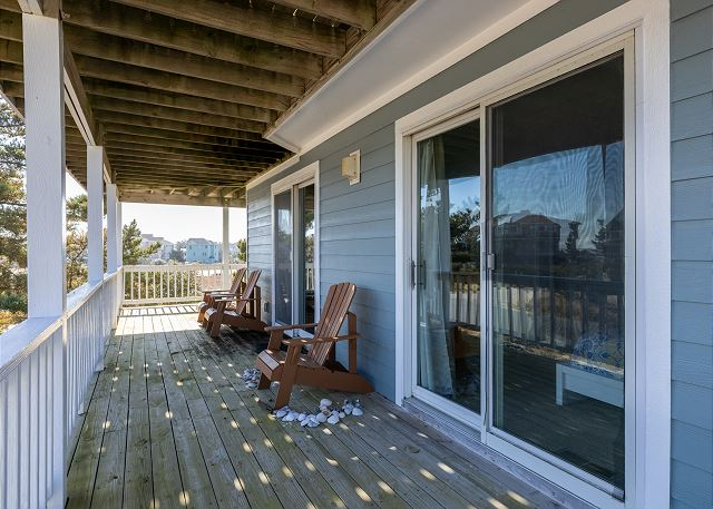 Covered Deck - Mid Level