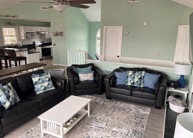 Living Area new flooring - Top Level
