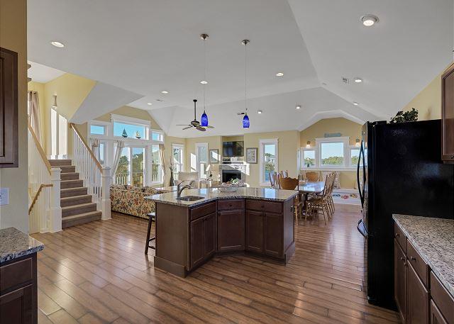 Kitchen Island - Top Level