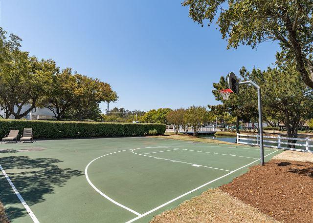 Buck Island Basketball Court