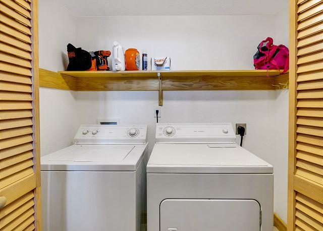 Laundry Area - Mid Level