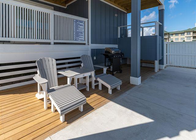 Pool Deck - Ground Level