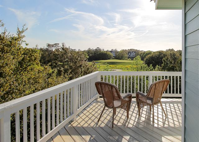 Sundeck of Sea the Green, a 7 bedroom, 5.5 bathroom vacation rental in Corolla, NC