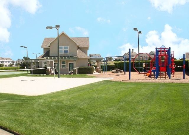 Volleyball Court and Playground