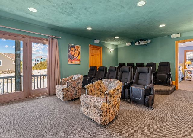 Theater Room - Mid Level