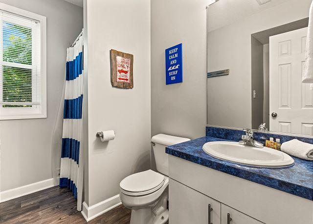 Semi-Private Bathroom - Ground Level