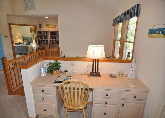 Loft Area of Amazing Grace, a 4 bedroom, 3.5 bathroom vacation rental in Corolla, NC