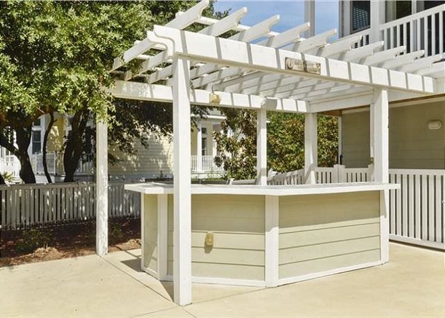 Outdoor Bar of Thanks Dad, a 6 bedroom, 5.5 bathroom vacation rental in Corolla, NC