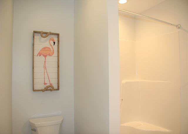 Twin/Full Master Bathroom of Summer Love, a 6 bedroom, 6.5 bathroom vacation rental in Corolla, NC