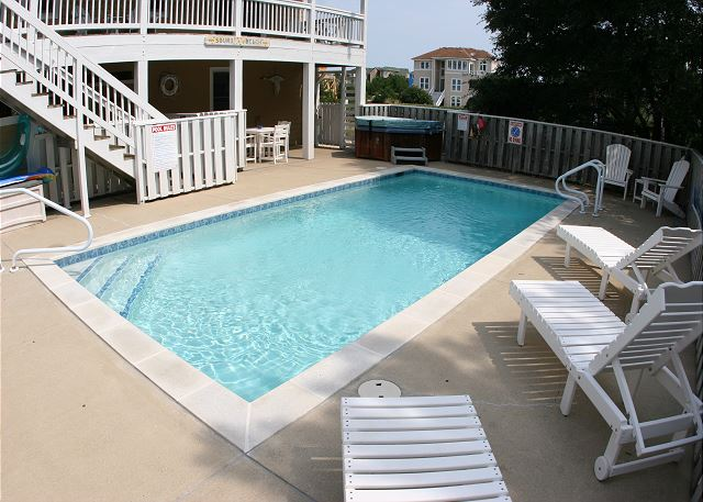 Pool of Shore Sounds Good!, a 5 bedroom, 4.5 bathroom vacation rental in Corolla, NC
