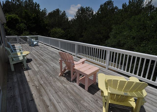 Deck - Top Level