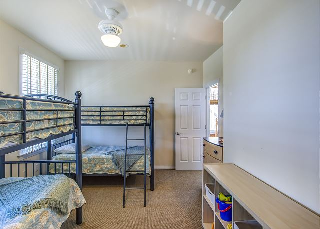 Bunk Room Entry Level  of Par-Tee by the Sea, a 4 bedroom, 3.5 bathroom vacation rental in Corolla, NC