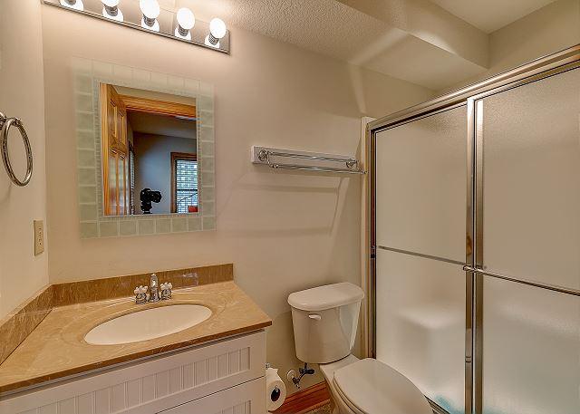 Twin Master Bathroom ground level