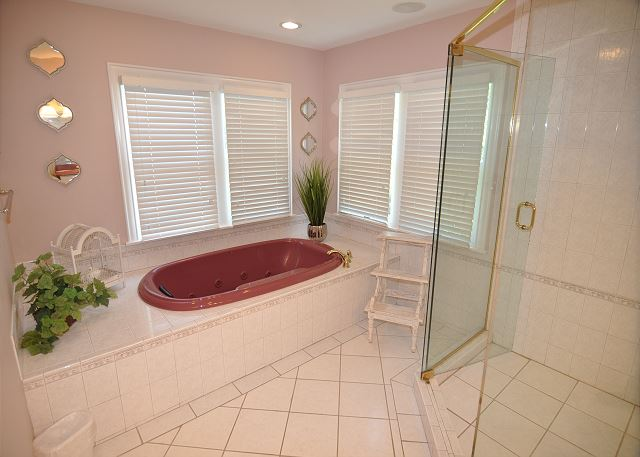 King Master Bath - Mid Level