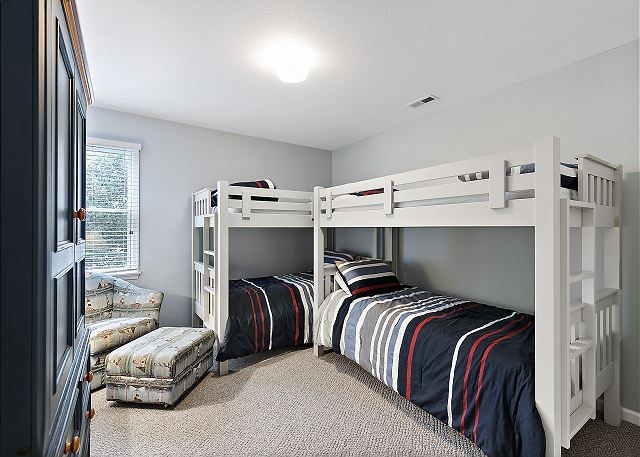 Two Bunk Bed Sets - Top Level