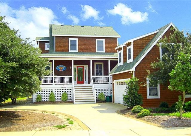 Serendipity of Serendipity, a 5 bedroom, 4.5 bathroom vacation rental in Corolla, NC