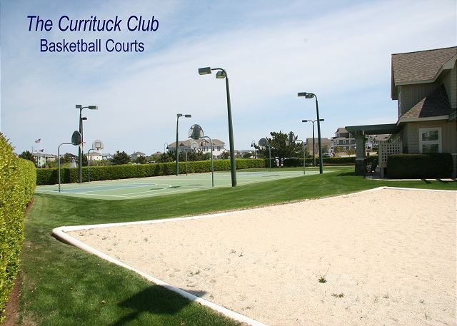 TCC - Basketball Courts of Just Fore Fun, a 4 bedroom, 3.5 bathroom vacation rental in Corolla, NC