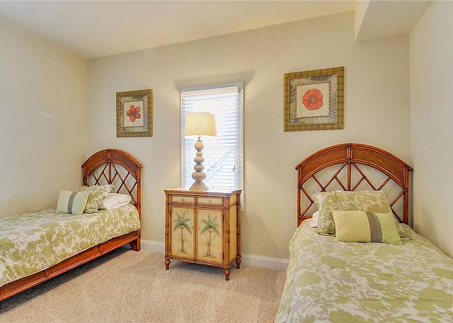 Twin Bedroom Mid Level of Coastal Castle, a 8 bedroom, 7.0 bathroom vacation rental in Corolla, NC