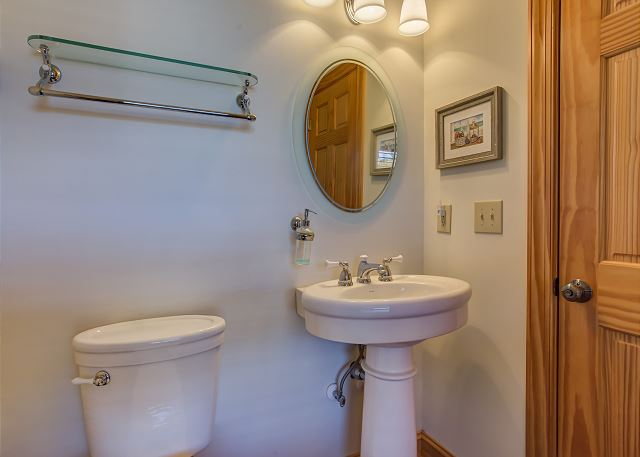 Half Bath Top Level of Southern Breeze, a 5 bedroom, 4.5 bathroom vacation rental in Corolla, NC