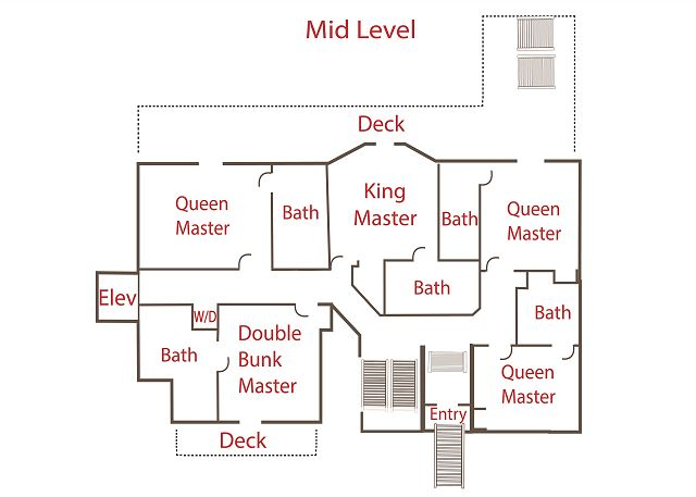 Floor Plan - Mid Level