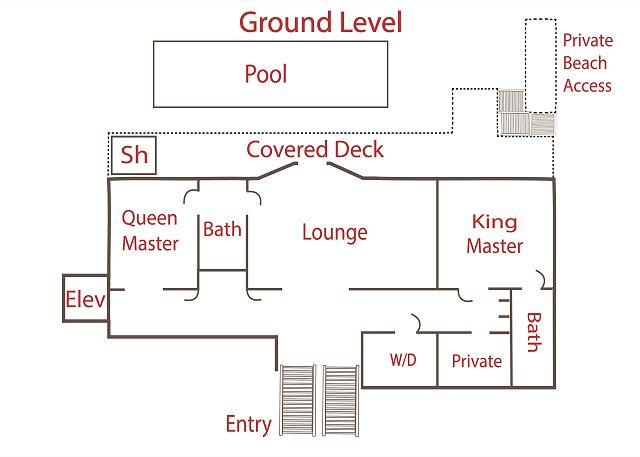 Floor Plan - Ground Level