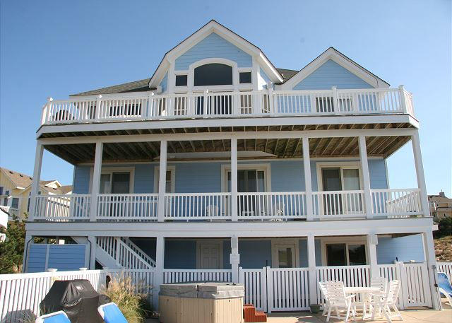 Pinch Me Pinch Me is a 5 bedroom, 5.5 bathroom vacation rental in Corolla, NC