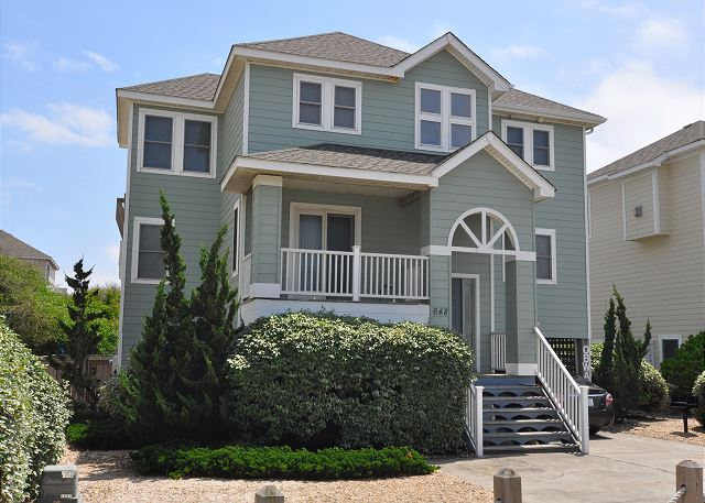 OB Wave of OB Wave, a 5 bedroom, 3.5 bathroom vacation rental in Corolla, NC