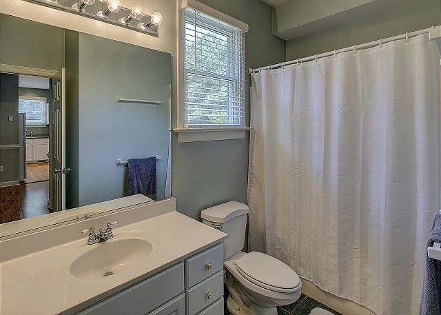 Shared Bath entry level of A Tar Heel State of Mind, a 4 bedroom, 3.0 bathroom vacation rental in Corolla, NC