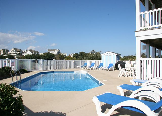 Patio Pinch Me is a 5 bedroom, 5.5 bathroom vacation rental in Corolla, NC