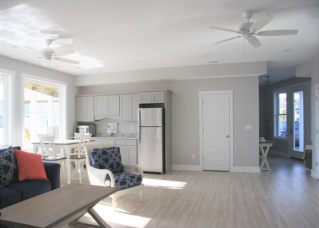 Lounge Ground Level of Summer Love, a 6 bedroom, 6.5 bathroom vacation rental in Corolla, NC