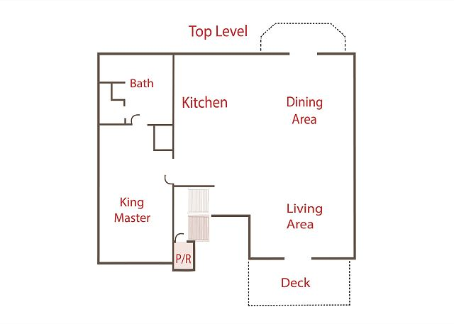Floor Plan - Top Level
